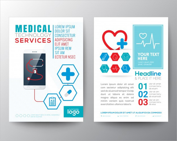 Medical Brochure Template Free Vector