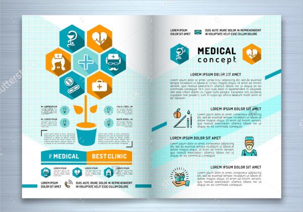 Easy to Edit Medical Brochure Design