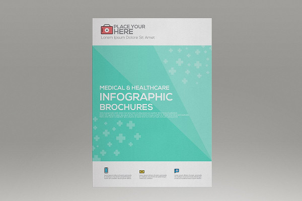 Medical Infographics Brochures Template