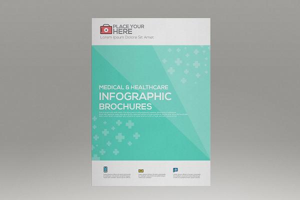 Medical Infographics Brochure Template