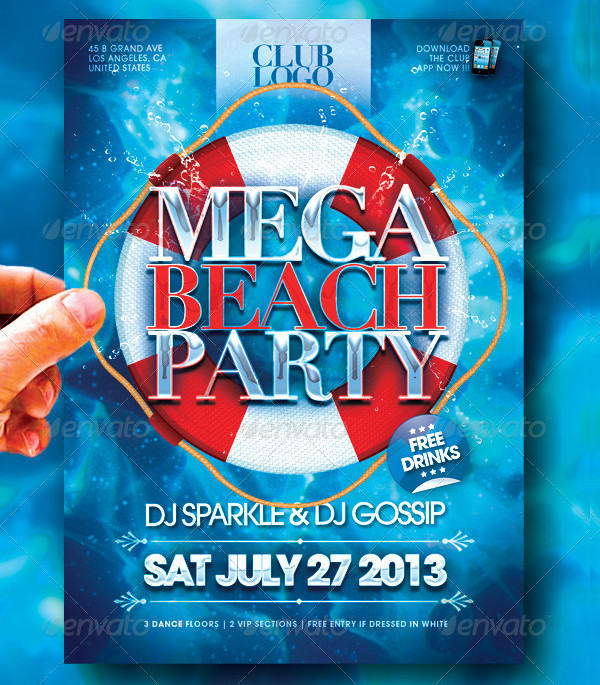 Mega Beach Flyer
