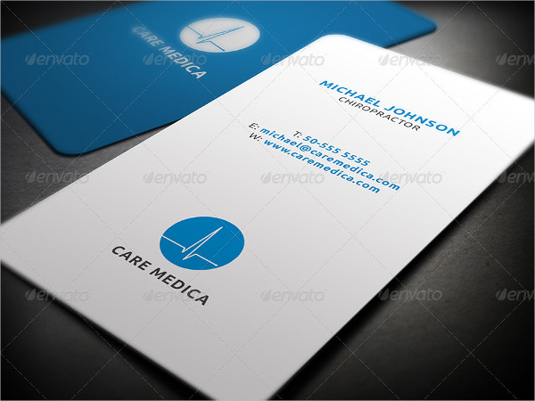 Minimal Medical Care Business Card Template