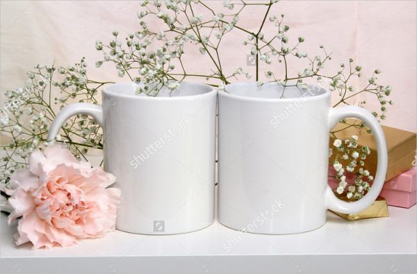 Mockup of Cups for Wedding