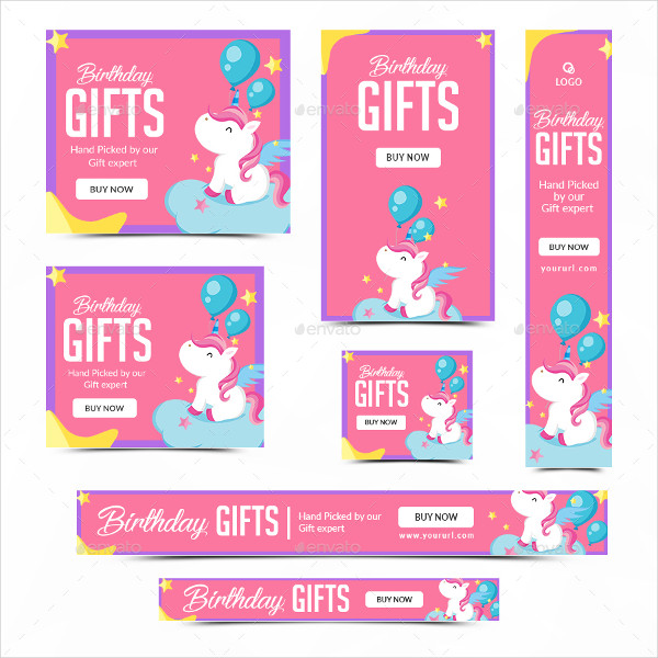 27+ Birthday Banner Templates