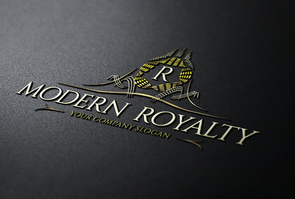 Modern Royalty Logo Template