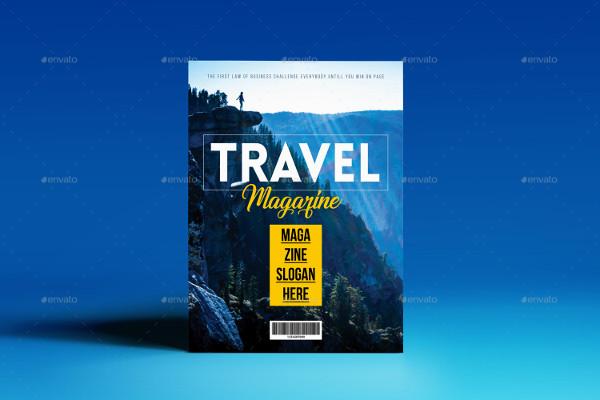 Modern Travel Magazine Templates