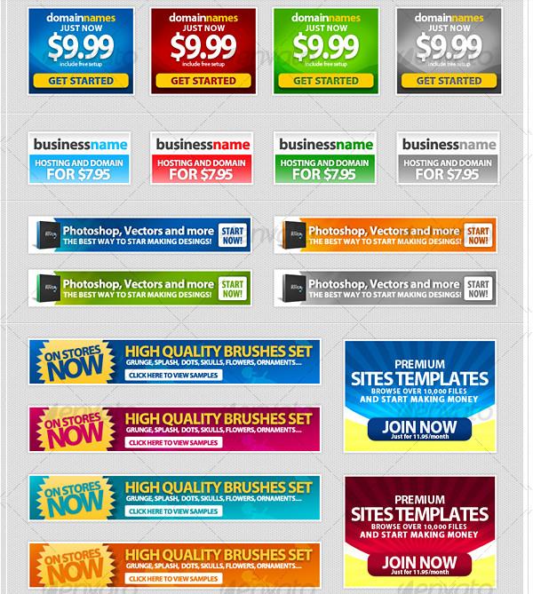 18 Modern Web Banners