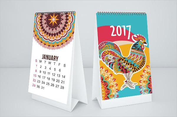 Monthly Calendar Mock-Ups