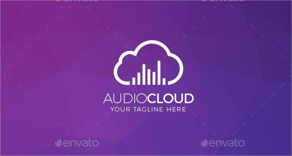 Musical Cloud Logo Template