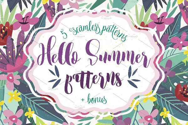 5 Hello Summer Patterns