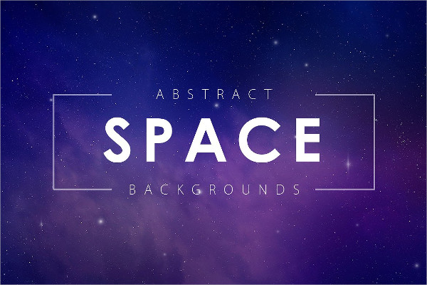 5 Space Abstract Backgrounds