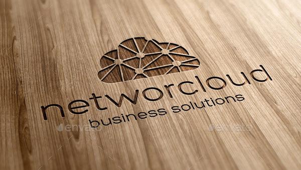 Atrractive Cloud Network Logo Template