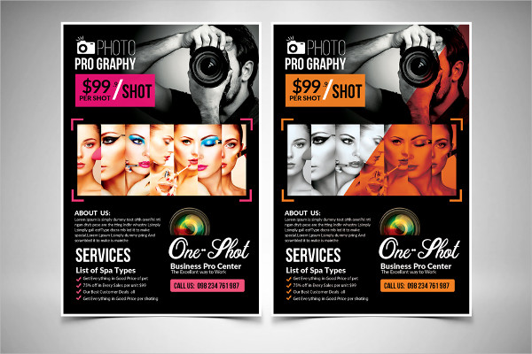 New Photography Flyer Template