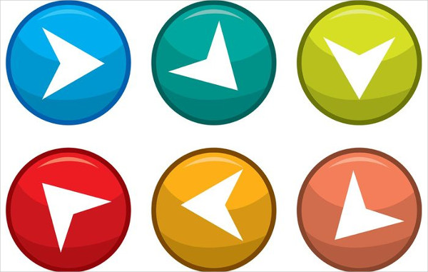 Next Step Arrow Button Vectors Free
