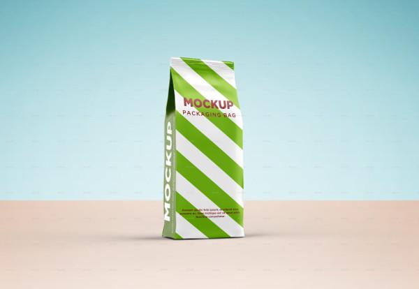 Packaging Paper Bag Mock-Up