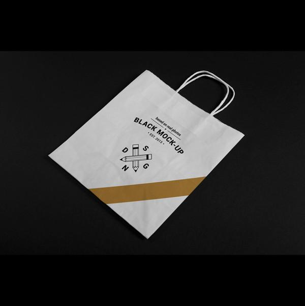 Paper Bag Mock-Up Design Free
