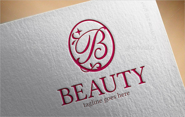 Fashion Brand Beauty Logo Template