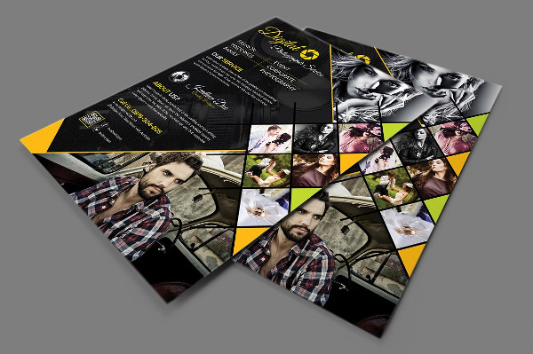 Photography Advertising Flyer Template
