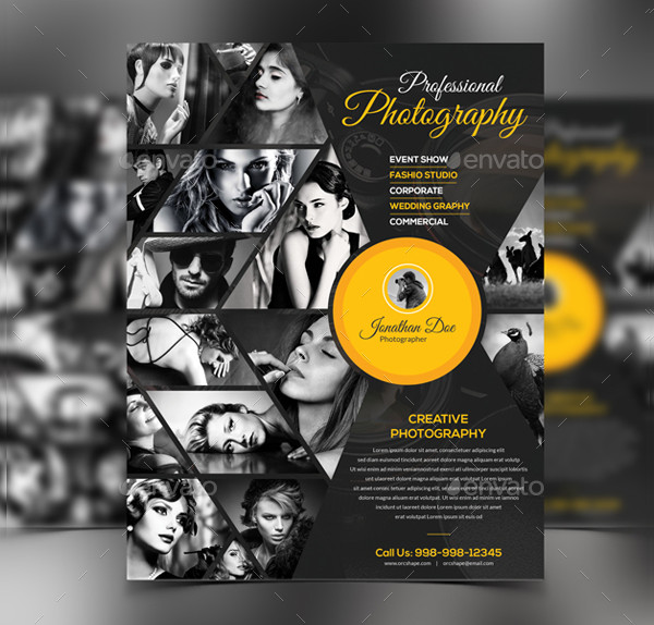 Photography Event Show Flyer Template