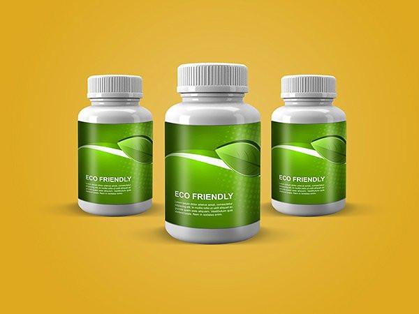 Pills Bottle Mock-Up Medicine