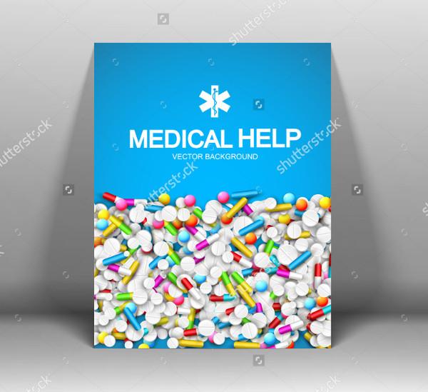 Medical Help Brochure Template