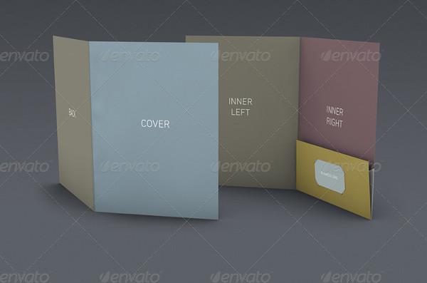 Pocket Folder Mock-Up Set