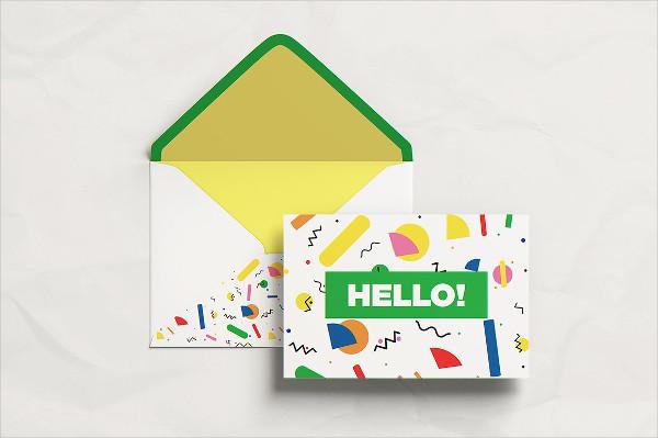 Postcard Presentation Mockup