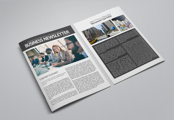 Printable Business Newsletter Template