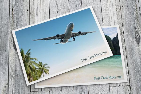 Professional Design Postcard Mockups