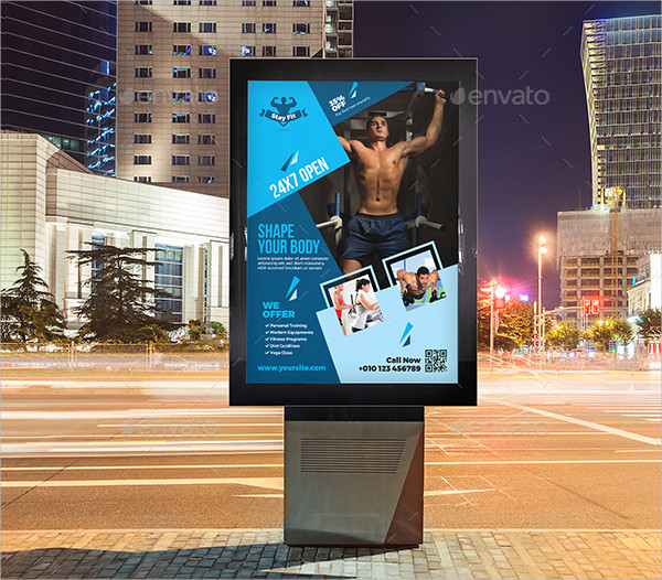 Professional Fitness Posters