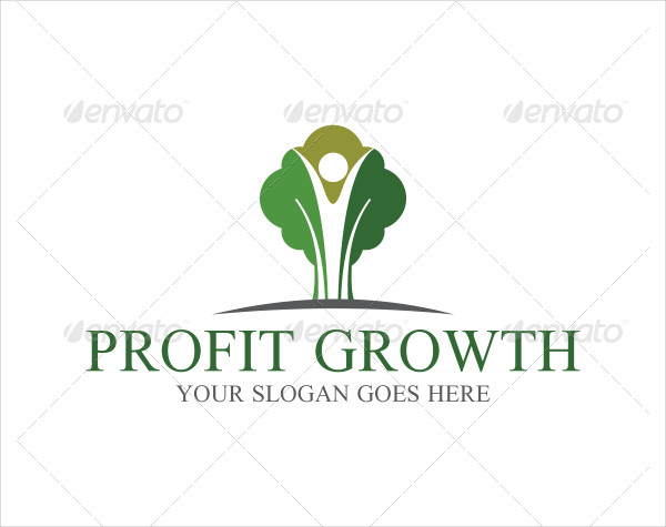 Growth Logo Design Ideas