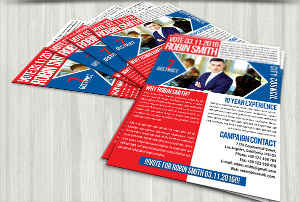 Free Political Promotion Flyer Template