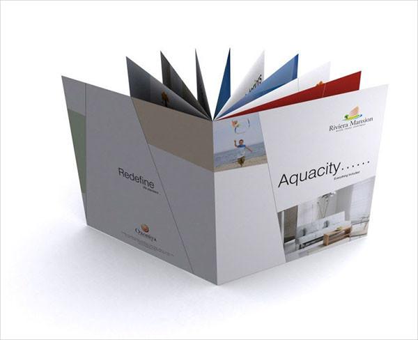 Construction Company Promotion Brochure