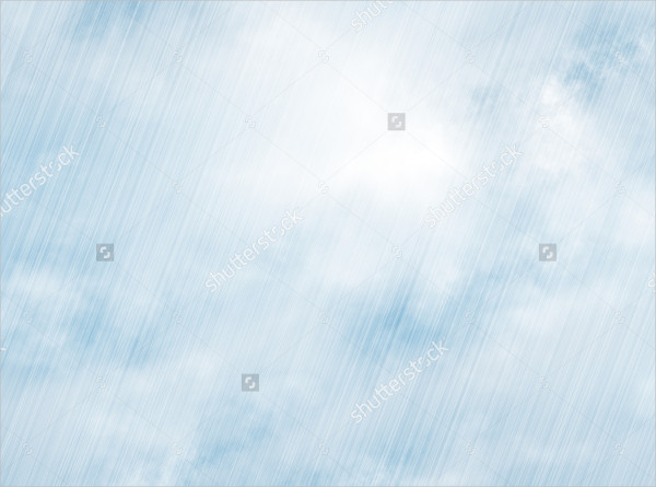 Rain Storm Background