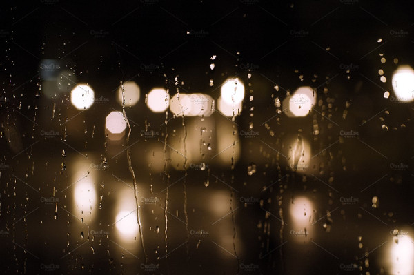 Rainy Night Background