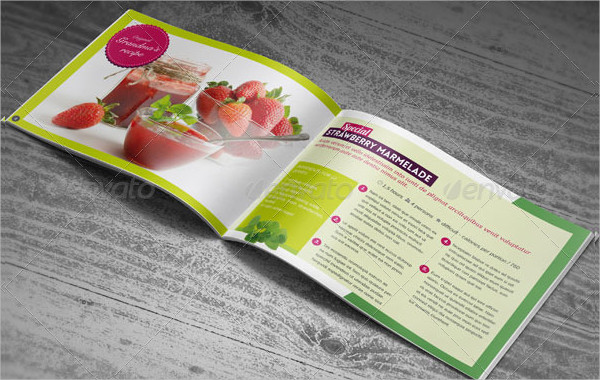 Recipes Booklet Template