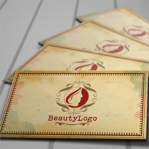 Retro Beauty Stationery & Logo