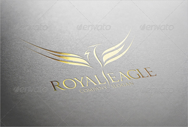 Royal Eagle Logo Template