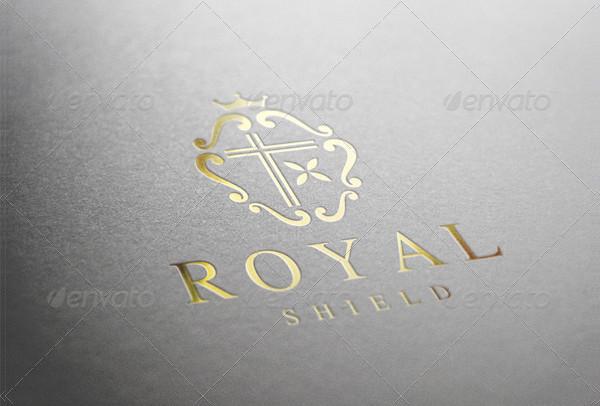 Royal Shield Logo Template