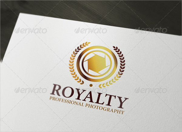 Royalty Photography Logo Template