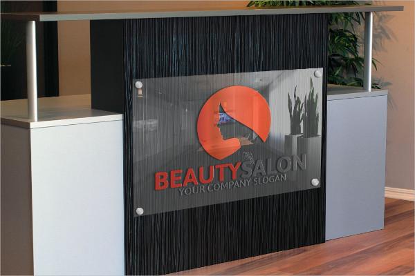 Beauty Parlour Logo Template