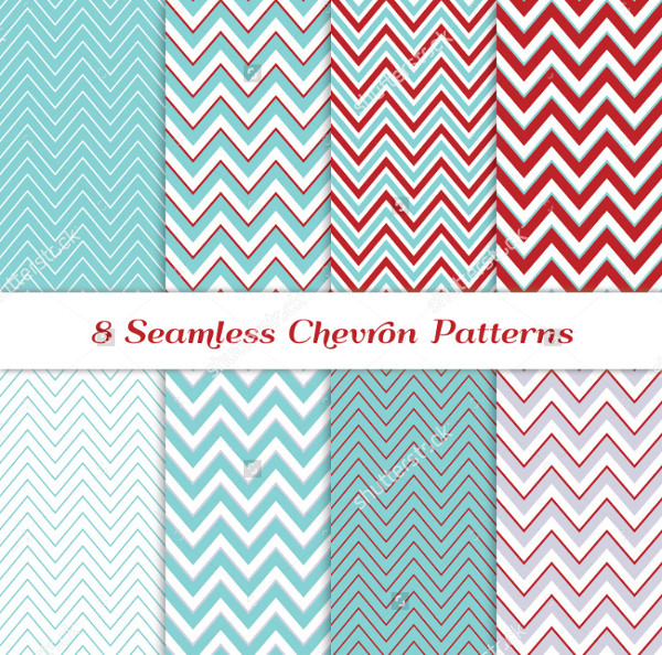 8 Seamless Chevron Patterns
