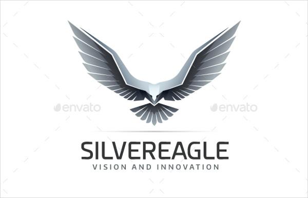 Silver Eagle Professional Logo Template