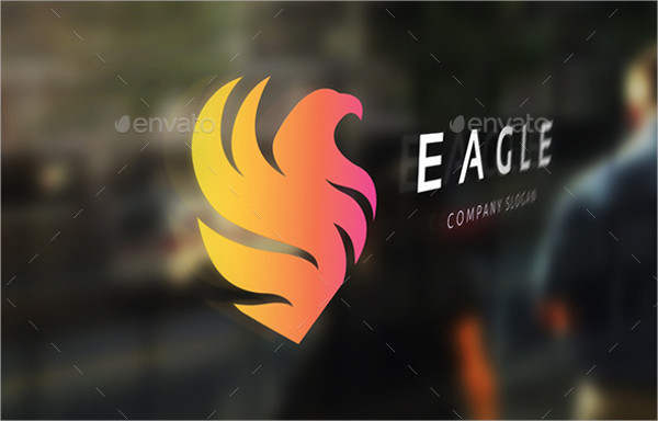 Designed Eagle Company Logo Template