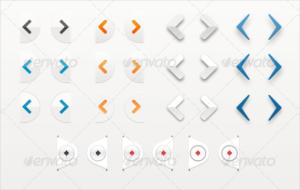 Universal Carousel Slider Arrow Pack