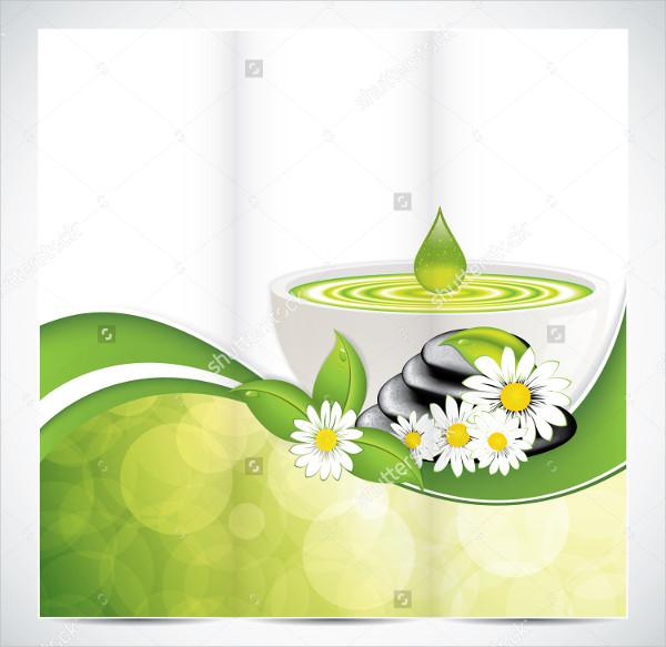 Spa Salon Beauty Brochure Design