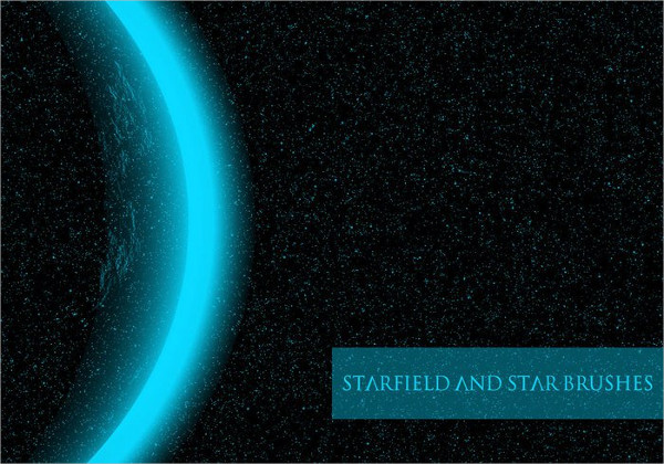 Free Star & Starfield Brushes