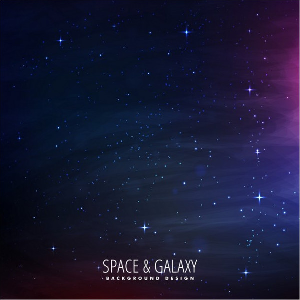 Star Filled Space Background Design Free Download
