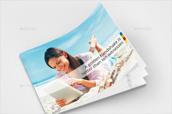 Strategic Horizontal Brochure Design