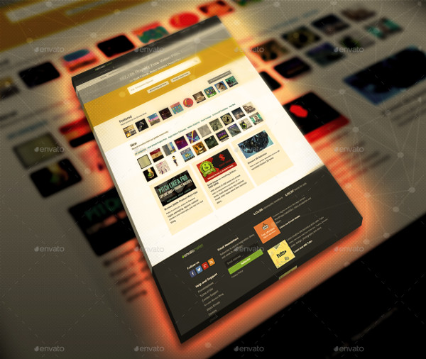 Studio Light Website Display Mockup